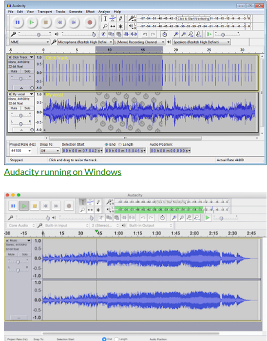 free recording software